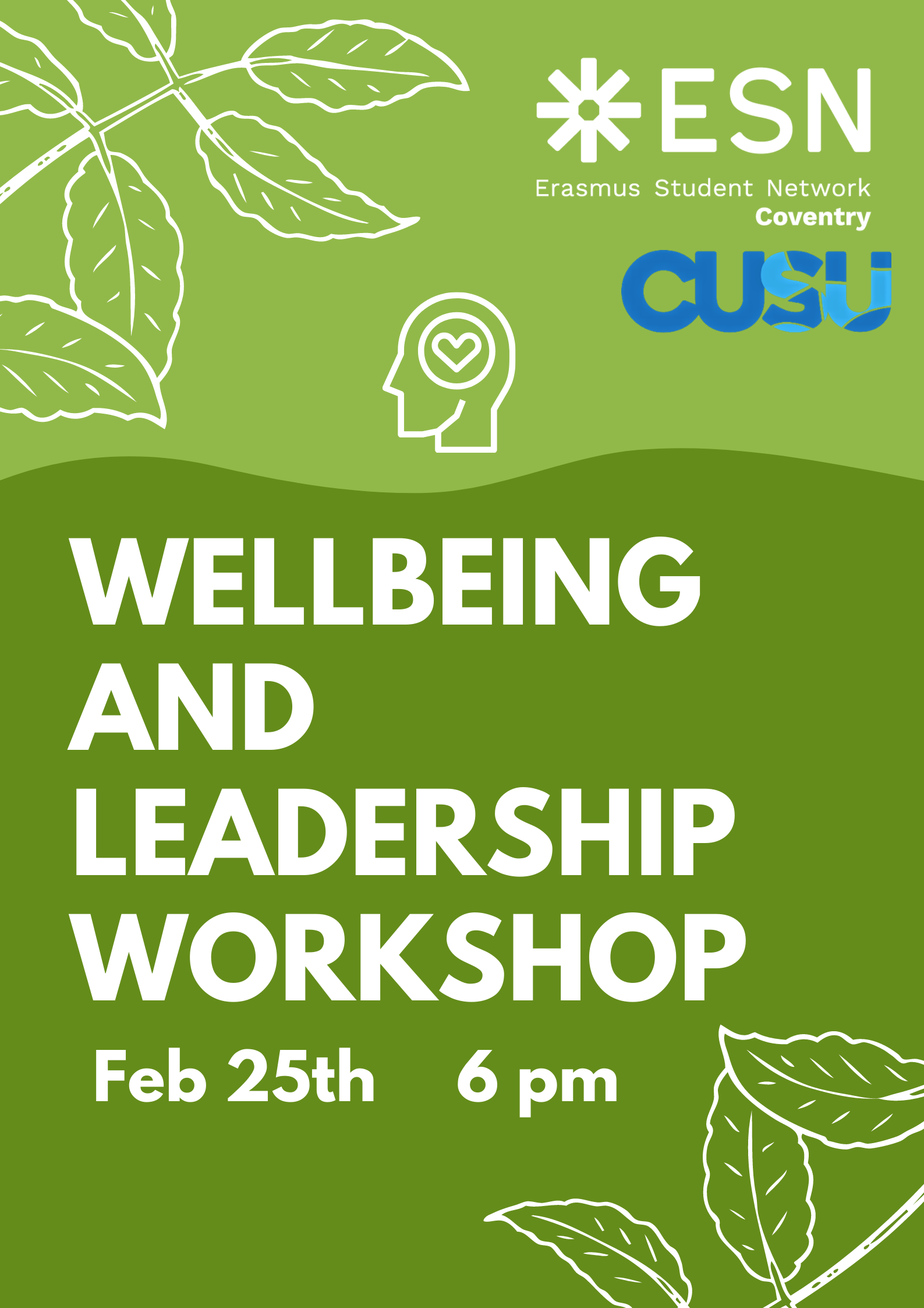 Wellbeing and Leadership Workshop