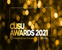 CUSU Award 2021 - Celebrating Your Success on 27th May