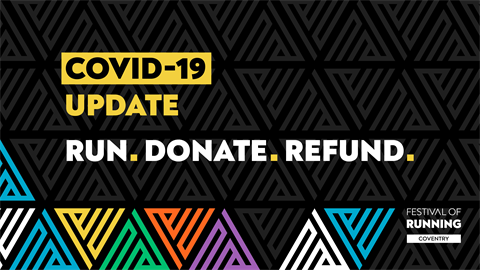 COVID-19 UPDATE Run, Donate, Refund