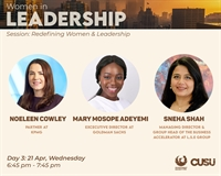 Redefining women and leadership