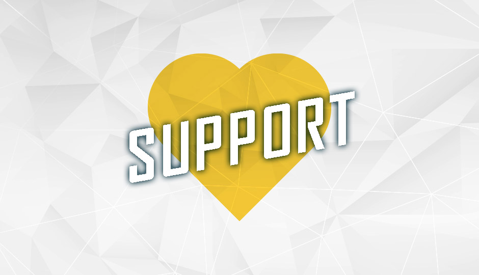 Support graphic